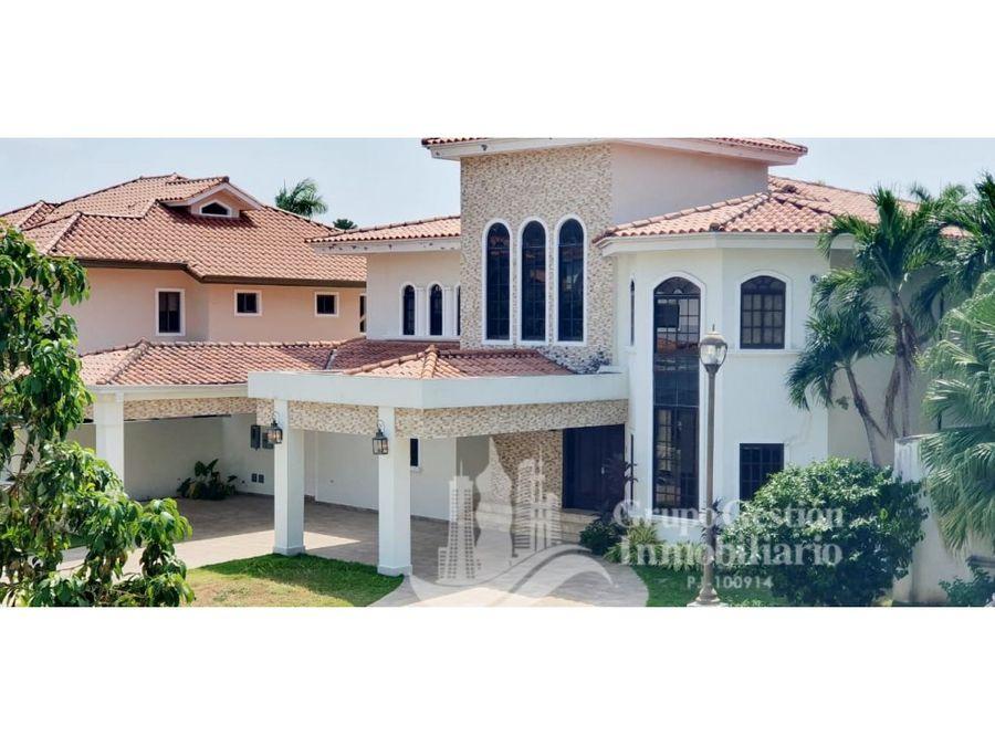casa 4rec en costa del este con piscina 972m2