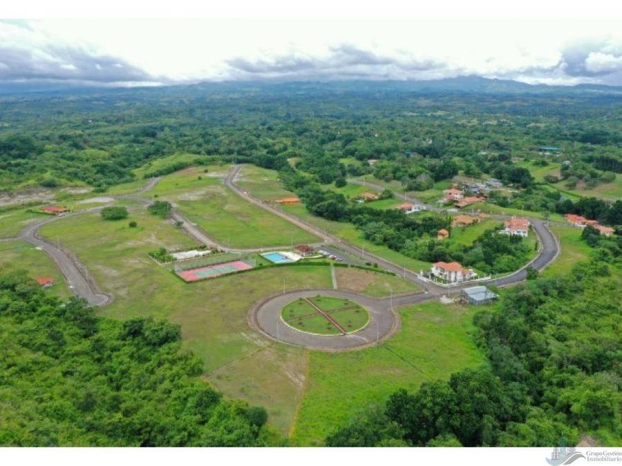 terreno parcelado 800 m2 proyecto valle village