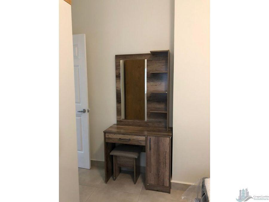 apartamento amoblado casco antiguo santa ana