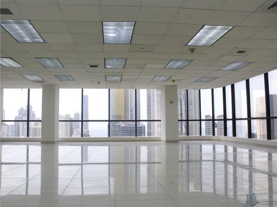 oficina terminada en calle 50 de 165m2 incluye mantenimiento