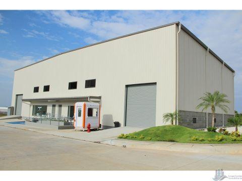 vende galpon full equipado parque industrial tocumen