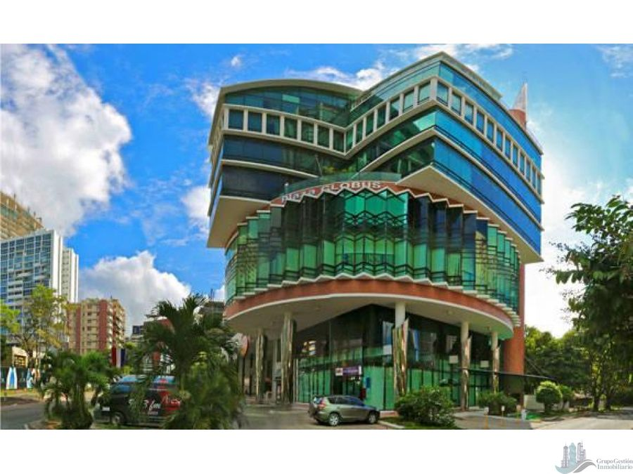 oficina remodelada y equipada 470 m2 en plaza globus av samuel lewis