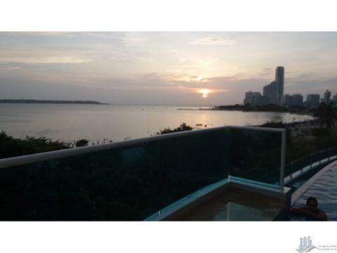 vendo apartamento en castillogrande frente al mar