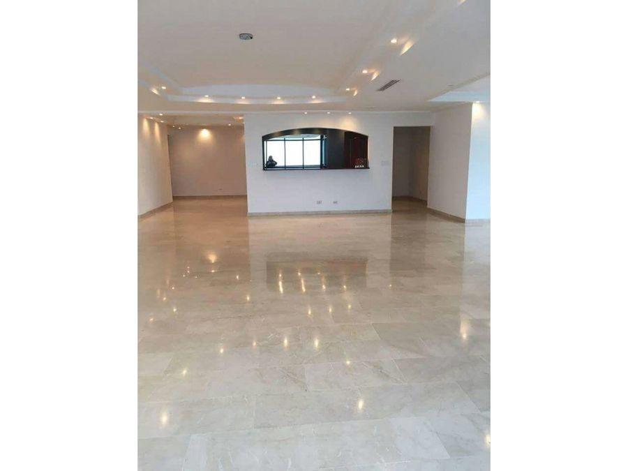 apartamento de 375m2 en av balboa ph miramar plaza con linea blanca