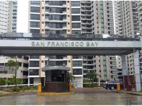 apartamento amoblado en san francisco bay torre 300