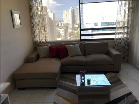 apartamento en calle 50 amoblado ph buganvilla