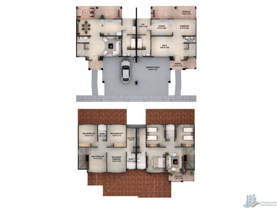 se vende casa en reservas de versalles modelo toledo de 22567 m2