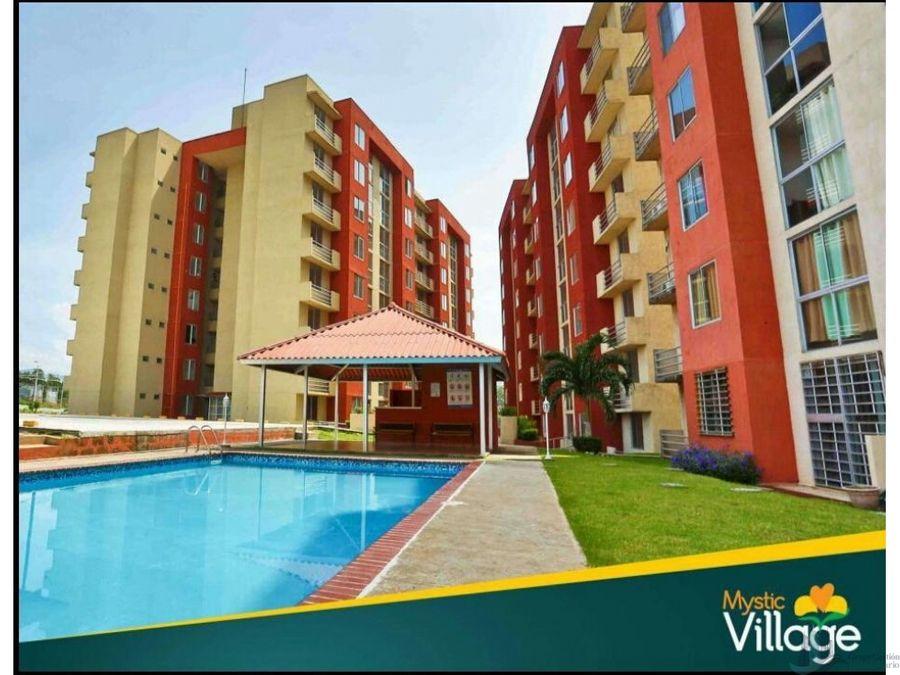 se vende apartamento amoblado 61 m2 ph mystic village don bosco