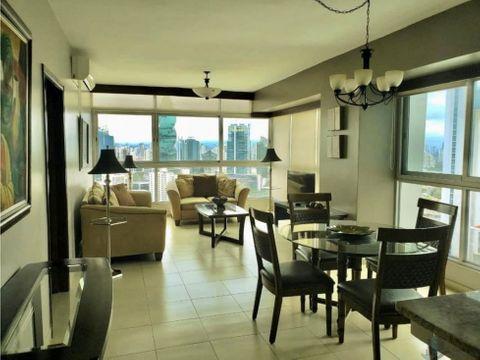 apartamento amoblado en avenida balboa