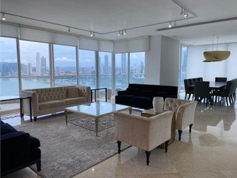 apartamento amoblado de lujo 4rec 500mt the point punta paitilla