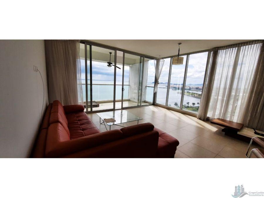 alquiler apartamento amoblado 2 rec hermosa vista av balboa