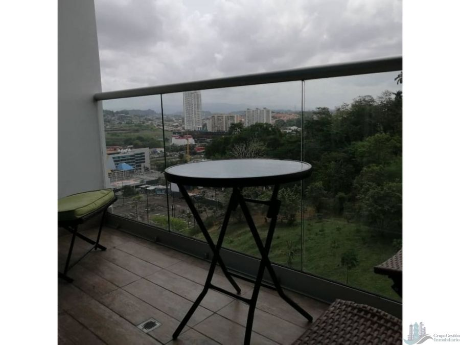 se alquila apartamento amoblado en ph sky point 72 m2
