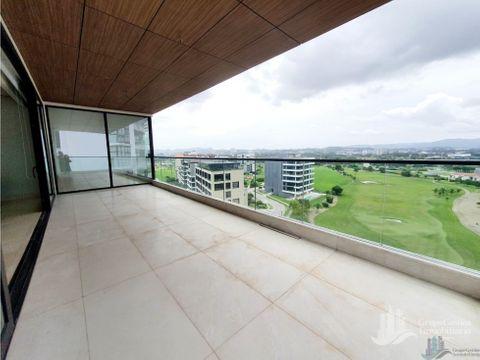apartamento 400mts2 vista al golf en santa maria para estrenar