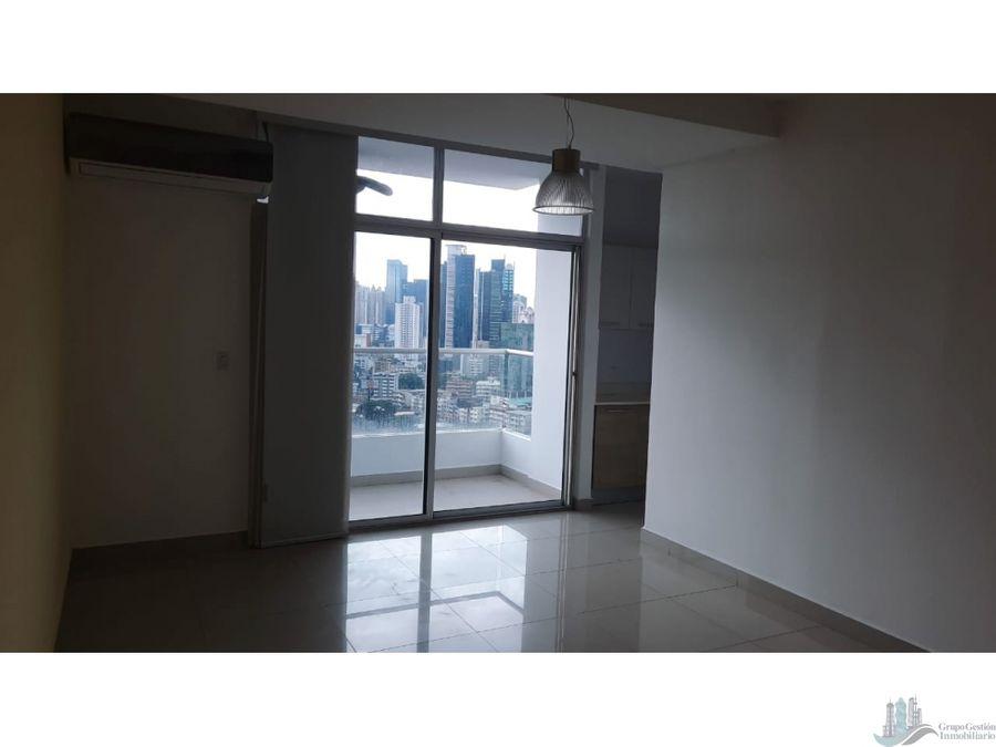 apartamento semiamoblado 2 rec en via argentina ph rainbow