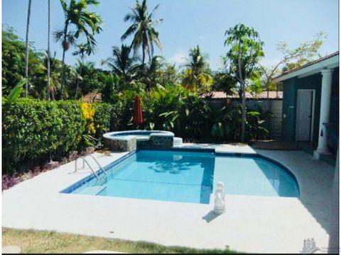 casa de playa con piscina 5 recamaras en coronado