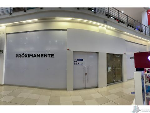 dos locales dentro del mall de m2 en planta baja andes mall