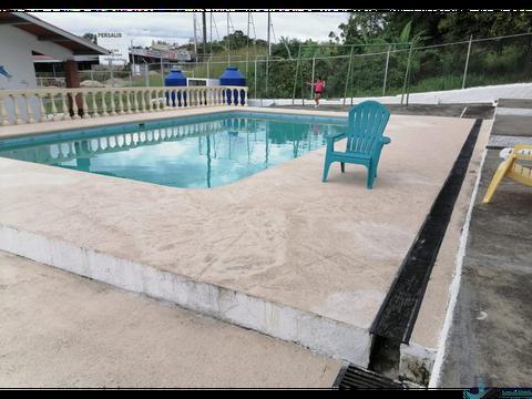 cabanas con piscina en san carlos