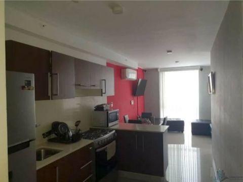se vende apartamento amoblado en vista hermosa