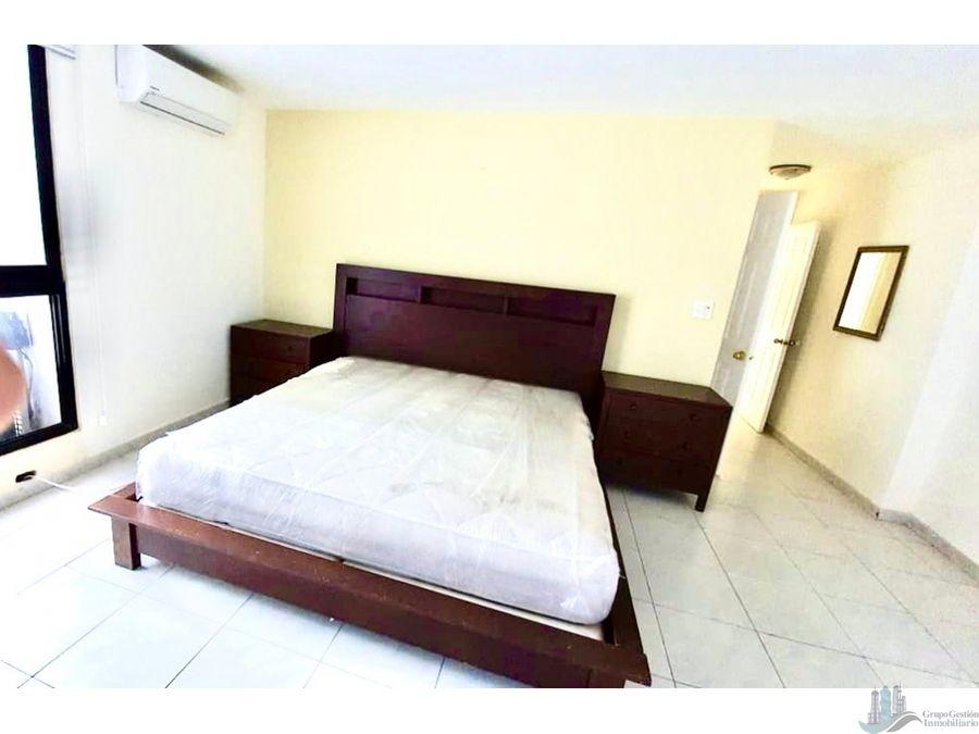 apartamento 2recamaras amoblado av balboa ph coral reef