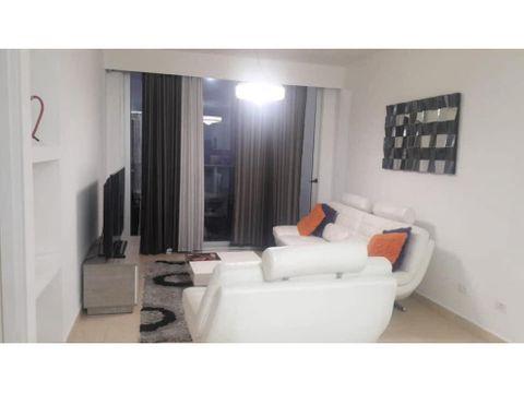 apartamento full amoblado en av balboa ph white 125m2