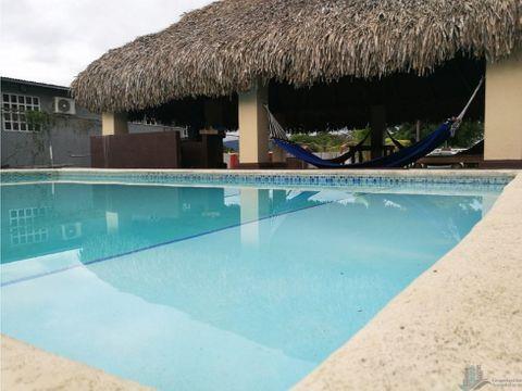 casa de playa 3 recamaras con piscina