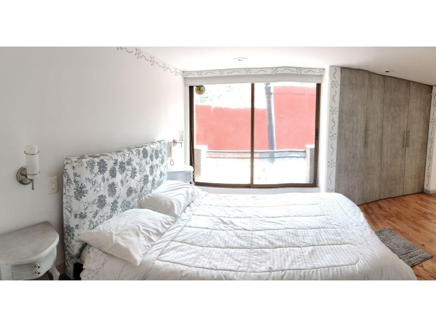 apartamento en barrio chico de bogota con 65 mts2