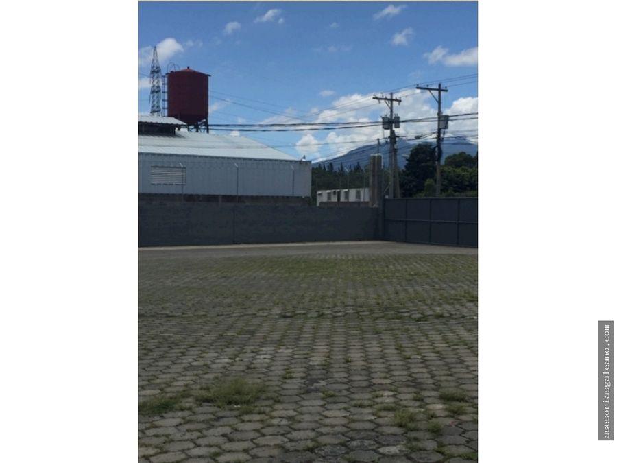 venta de 4 bodegas en zona 2 san jose villanueva