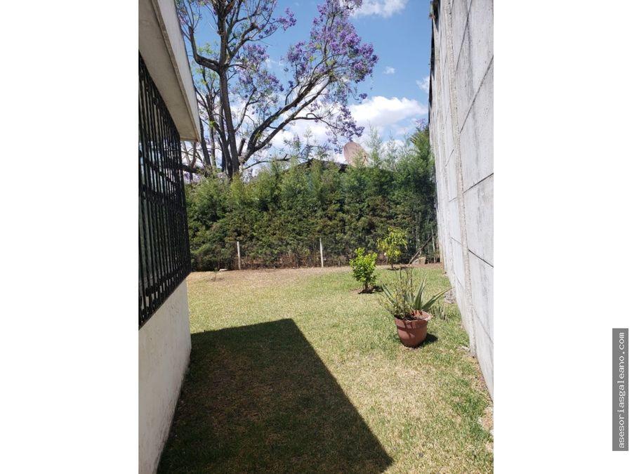 propiedad en zona 12 en venta a 75 metros de avenida petapa