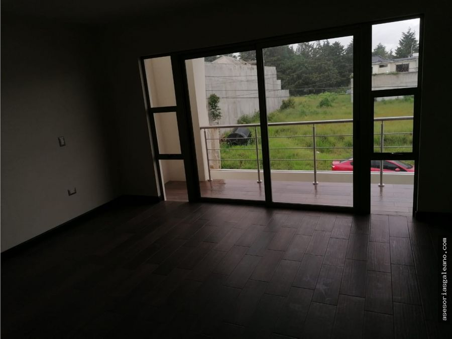 casa en venta hacienda real zona 16 y puerta de hierro
