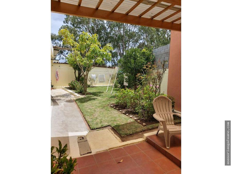 bonita casa en jardines de la asuncion