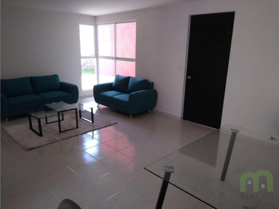 departamento nuevo con alberca y casa club en chulavista cuernavaca