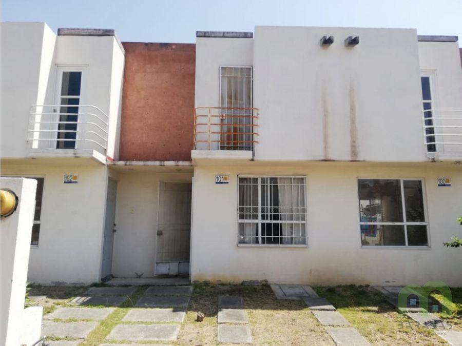 venta de casa 2 niveles en xochitepec morelos