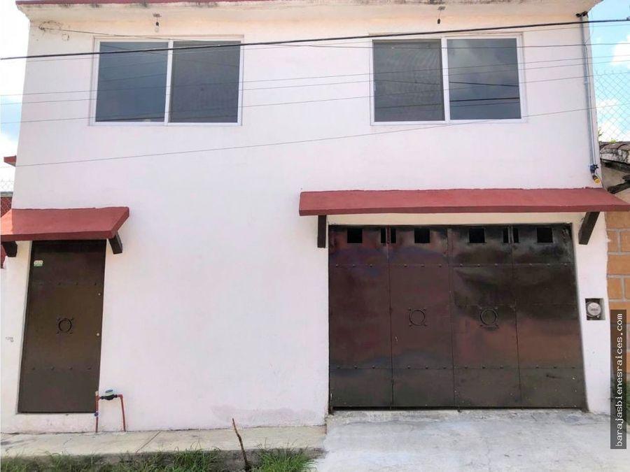 venta de casa sola en civac