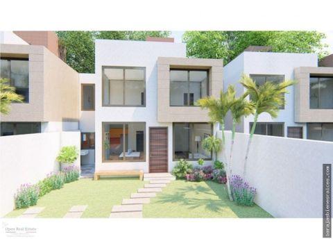 venta de casa nueva con roof garden y alberca propia