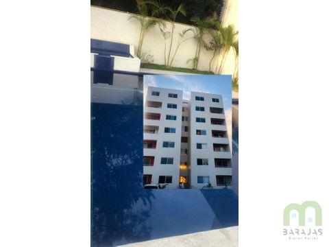 departamento en venta con alberca y 3 recamaras ubicado en cuernavaca