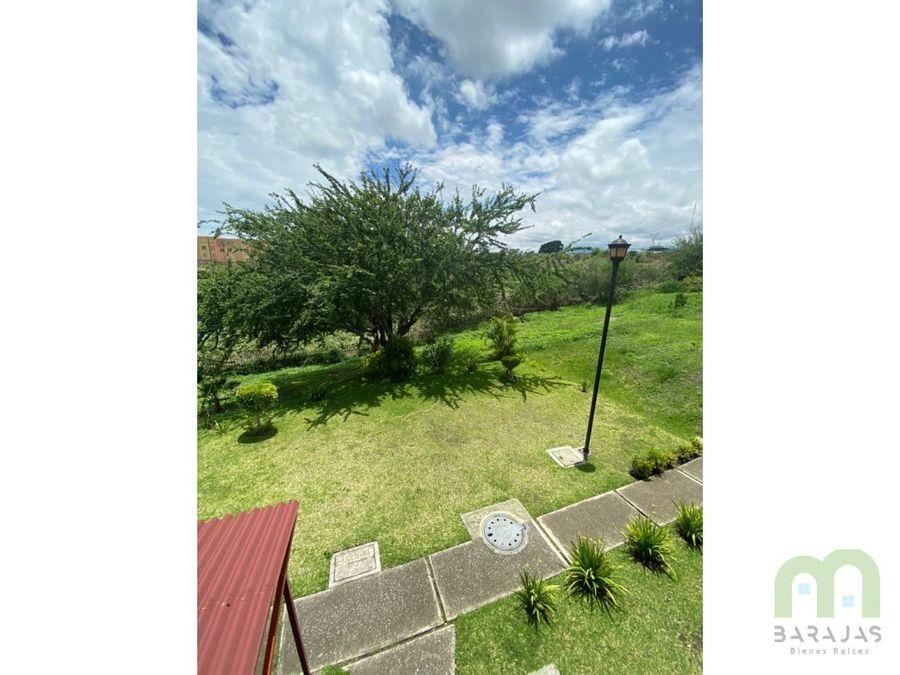 departamento en venta con alberca y areas verdes en campo verde