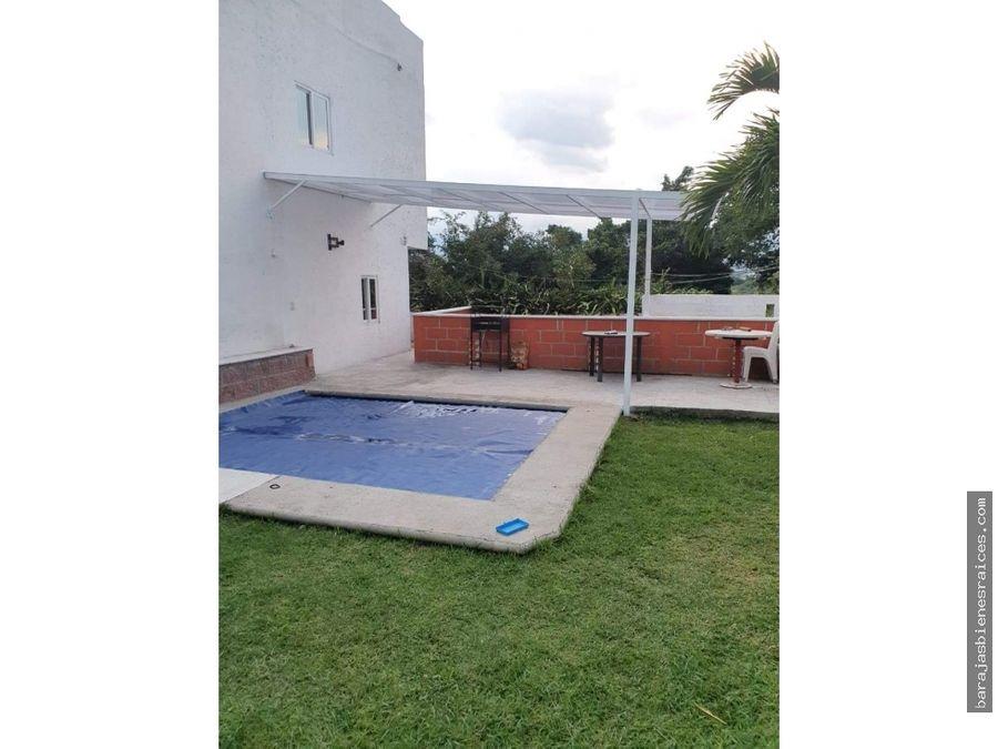 casa sola en venta de 3 niveles con alberca y jardin en cuernavaca