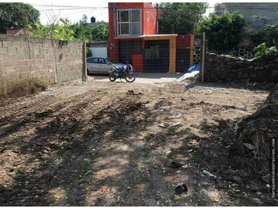 venta de terreno lotificado en jiutepec centro
