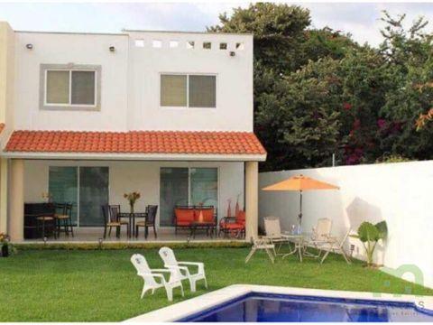 venta de casas nuevas con alberca en jiutepec morelos