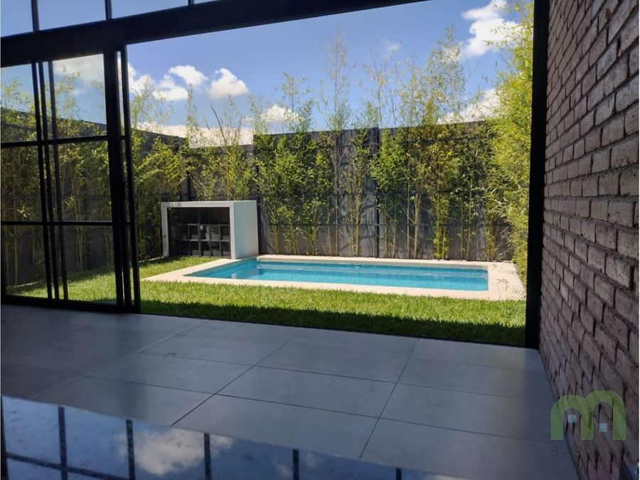 preventa de loft con alberca y jardin en xochitepec morelos