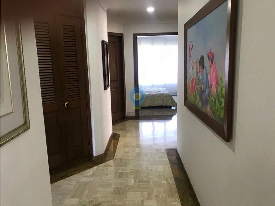 apartamento en venta en el poblado country