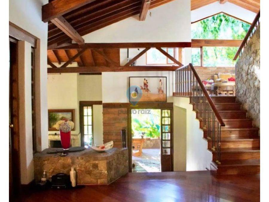 casa campestre para venta en envigado