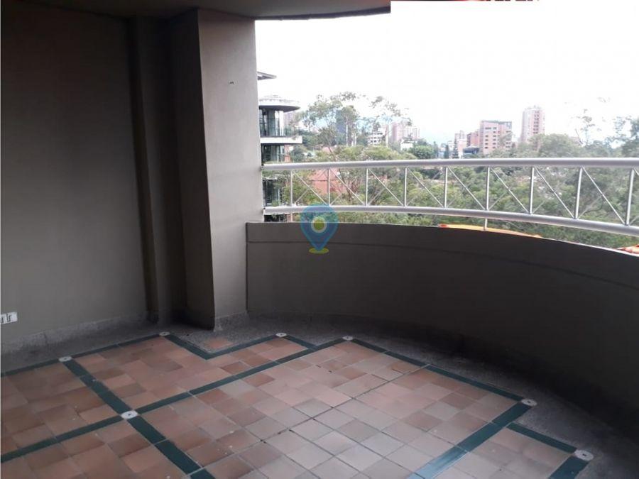 apartamento en arriendo en el poblado provenza
