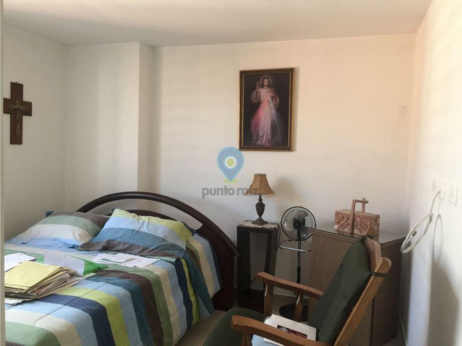 apartamento amoblado en san joaquin