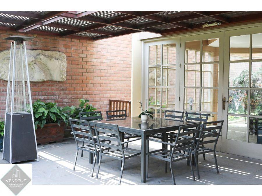 Casa 2 Pisos Terraza Jardin 4 Dorm La Molina C15