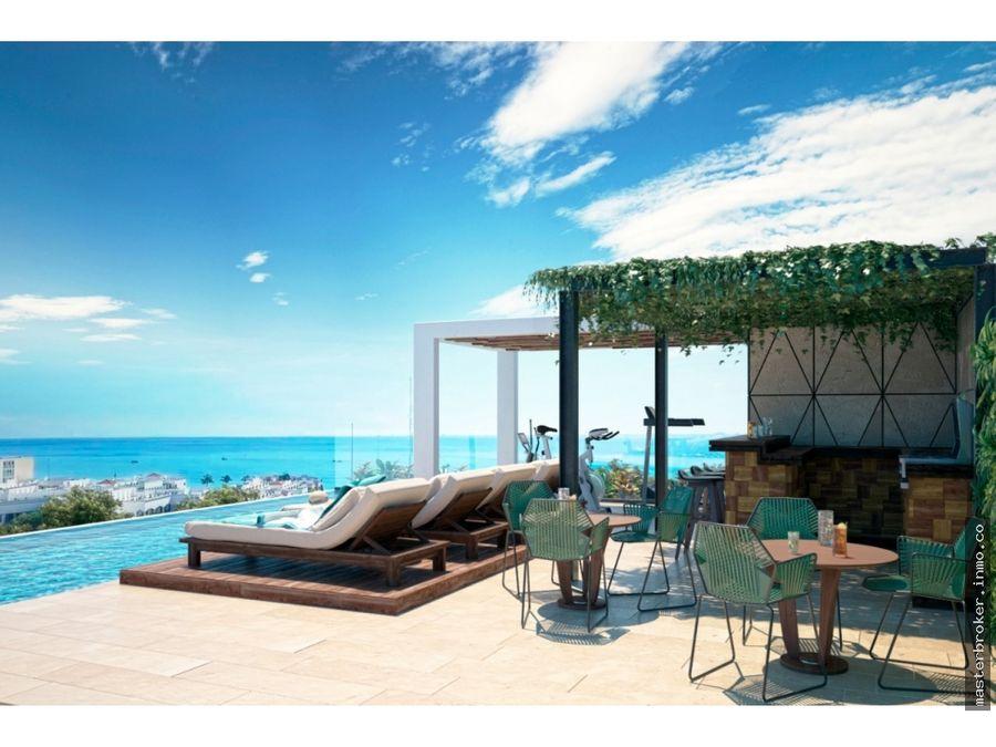 vendo penthouse cerca 5a avenida playa del carmen riviera maya