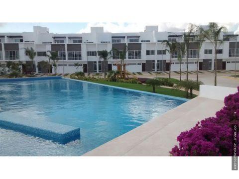 casa cancun tipo departamento comunidad residencial astoria
