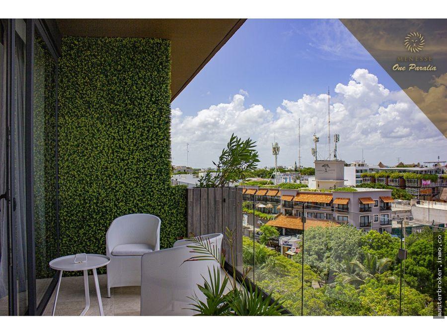penthouse departamento en condominio riviera maya cerca 5a avenida