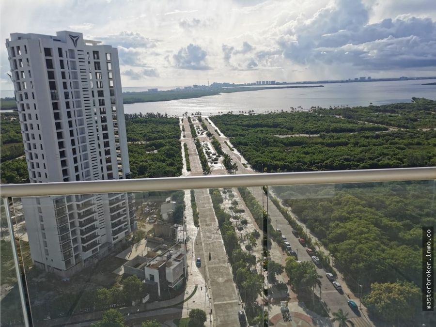departamento malecon tajamar americas cerca el table puerto cancun