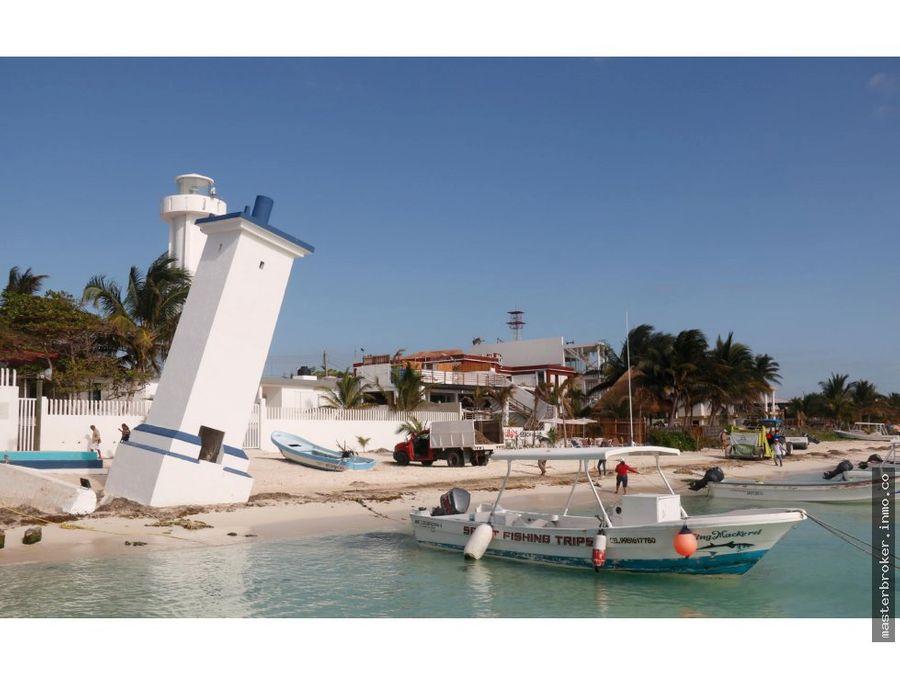 terreno 300m2 turistico residencial en puerto morelos riviera maya